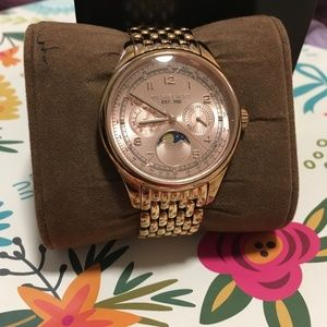 Michael Kors Watch Rose Gold and Diamond